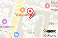 Схема проезда до компании Ромб в Ярославле