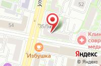 Схема проезда до компании Soul Pizza в Ярославле