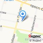 СЕВЕРОХОД на карте Ярославля