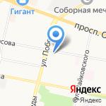 Риэлт-Сити на карте Ярославля