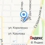 Погост на карте Ярославля