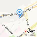 Областной дом народного творчества на карте Ярославля