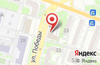 Схема проезда до компании Айфон-Ярославль в Ярославле