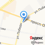 CopyAgainTime на карте Ярославля