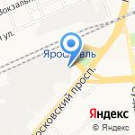 Флаер на карте Ярославля