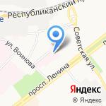 Детский психоневрологический диспансер на карте Ярославля