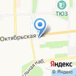 Унисон на карте Ярославля