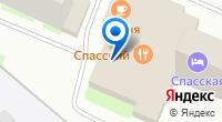 Компания ТНТ на карте
