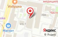 Схема проезда до компании Энфорта-Ярославль в Ярославле