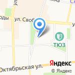 Диалог на карте Ярославля