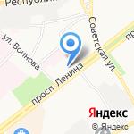 Керама-Марацци на карте Ярославля