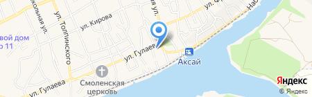 Принтакс на карте Аксая