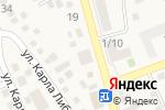 Схема проезда до компании Южное в Аксае