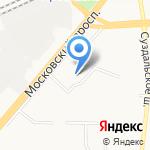 Ярославский региональный центр сертификации организаций на карте Ярославля