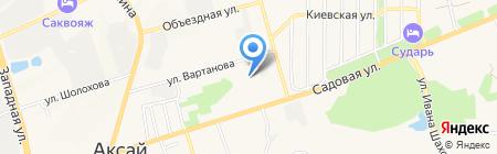 Дантист-Плюс на карте Аксая
