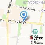 Богата Хата на карте Ярославля