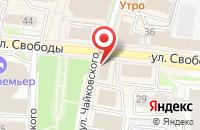 Схема проезда до компании Богата Хата в Ярославле