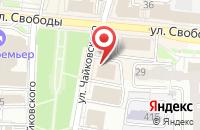 Схема проезда до компании Управление пенсионного Фонда РФ по Ярославскому району в Ярославле