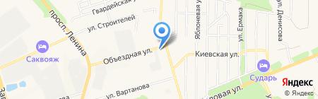 Электрик Сити на карте Аксая