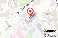 Схема проезда до компании Горизонт в Ярославле