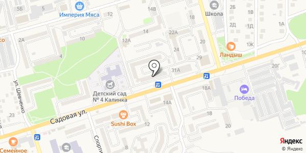 НИКА. Схема проезда в Аксае