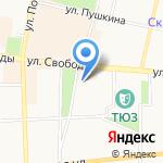 Студия граффити-оформления на карте Ярославля