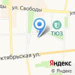 Концептор на карте Ярославля