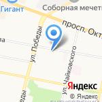 ЯРОСЛАВСКИЕ МАСТЕРА на карте Ярославля