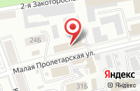 Схема проезда до компании Orange Business Services в Ярославле