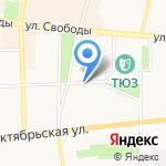 Единая служба подрядчика на карте Ярославля