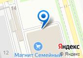 Славяна на карте