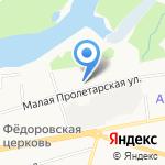 Время на карте Ярославля