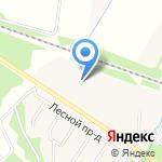 Радужный на карте Ярославля