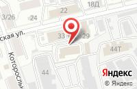 Схема проезда до компании Красноперекопский районный суд г. Ярославля в Ярославле