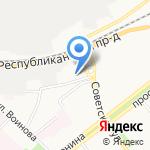 Ярославский колледж индустрии питания на карте Ярославля