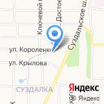 СК Прогресс на карте Ярославля
