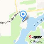 Арсенал на карте Ярославля