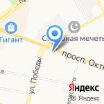 Мобисет на карте Ярославля