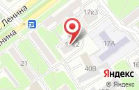 Схема проезда до компании Берегиня в Ялуторовске