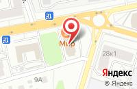 Схема проезда до компании Мир в Ярославле