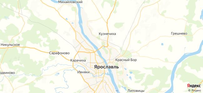 25 автобус в Ярославле