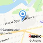 Адвокатский кабинет Баранова А.В. на карте Ярославля