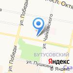 Меркурий на карте Ярославля