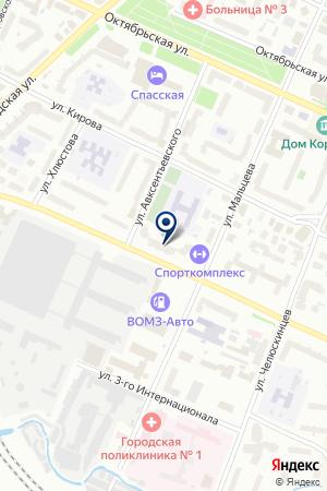 Дешёвые запчасти на карте Вологды