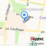 Версаль на карте Ярославля