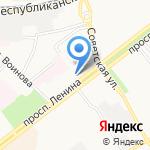 Московские окна на карте Ярославля