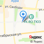 Центр пластической хирургии на карте Ярославля