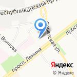 Средняя общеобразовательная школа №57 на карте Ярославля