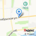Аистенок на карте Ярославля