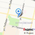 Ярославская областная библиотека им. Н.А. Некрасова на карте Ярославля